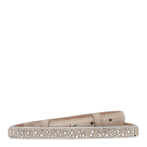 Reiss Nude Raina Crystal Studded Belt
