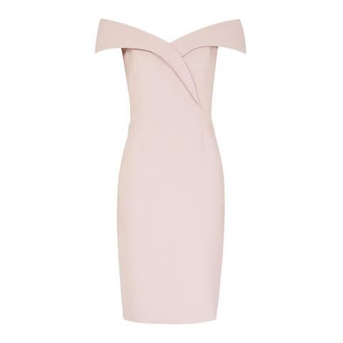 Reiss Light Pink Haddi Dress