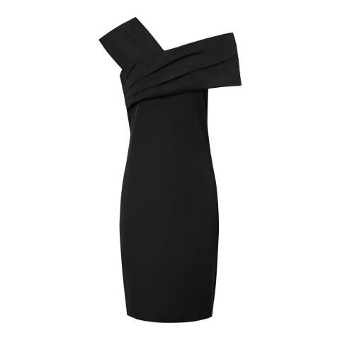 Reiss Black Cristiana Dress