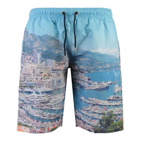 Geographical Norway Multi Quacht Swim Shorts