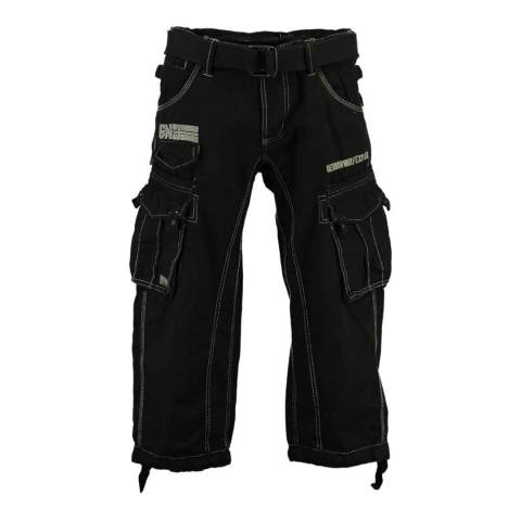 Geographical Norway Black Panoramique 3/4 Basic Trousers