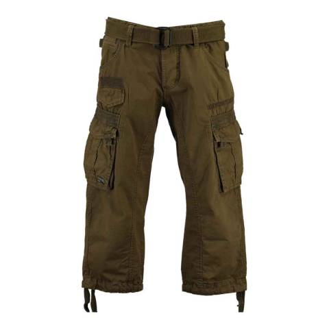 Geographical Norway Brown Panoramique 3/4 Basic Trousers