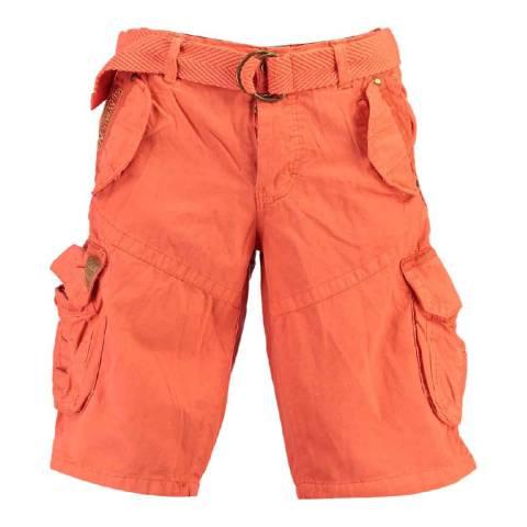 Geographical Norway Orange Pouvoir Swim Shorts