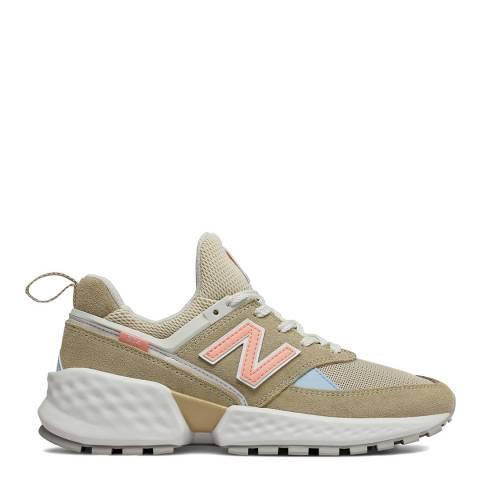 New Balance Beige 574 Sport Sneakers