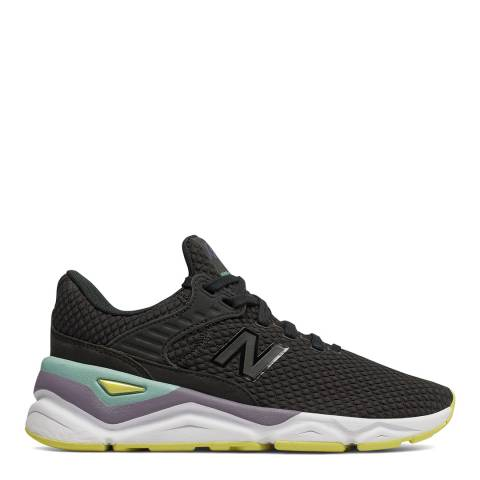 New Balance Black & Multi X90 Sneaker