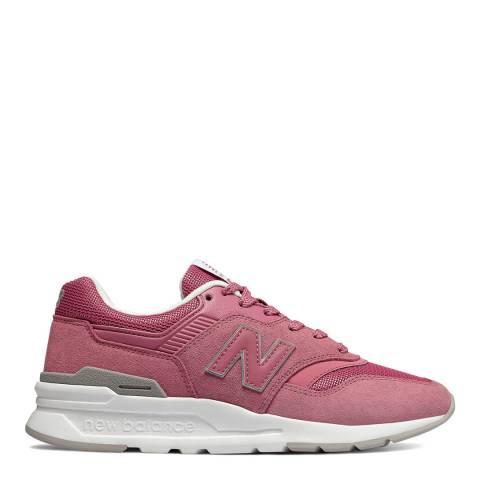 New Balance Pink 997 Retro Sneaker