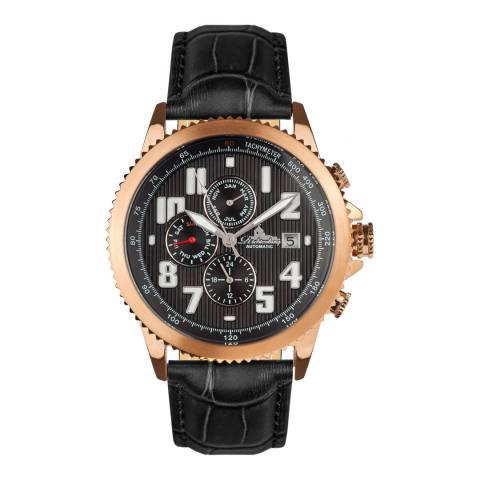 Richtenburg Men's Black Leather Watch