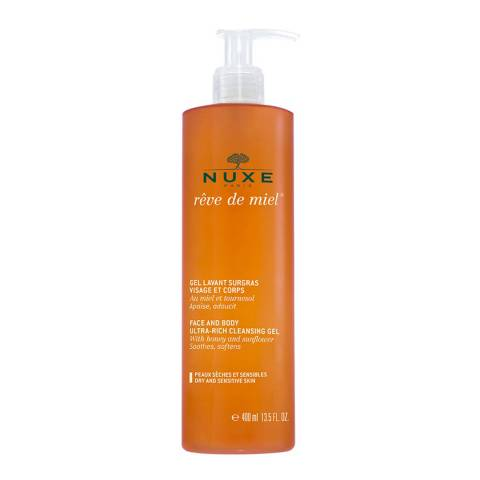 Nuxe Reve de Miel Face & Body Ultra Rich Cleansing Gel 400ml