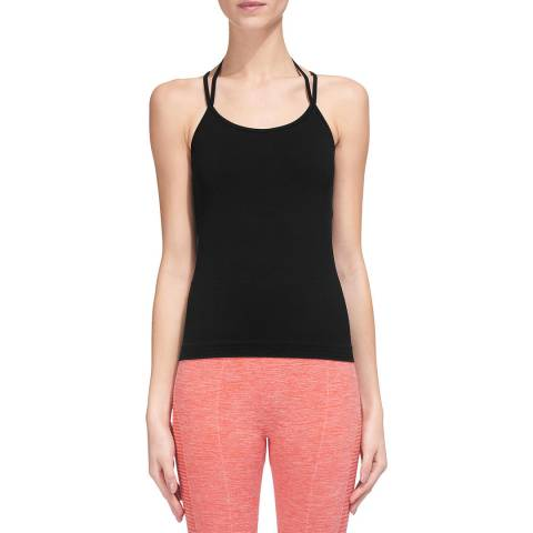 WHISTLES Black Halter Sports Top