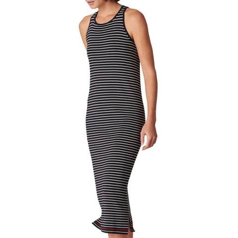 WHISTLES Multi Stripe Knit Dress