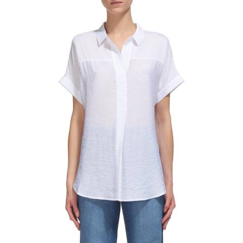 WHISTLES White Ellen Casual Shirt
