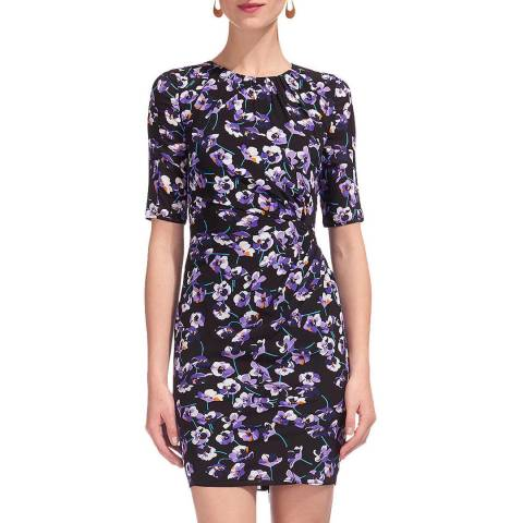 WHISTLES Multi Viola Print Jocelyn Dress