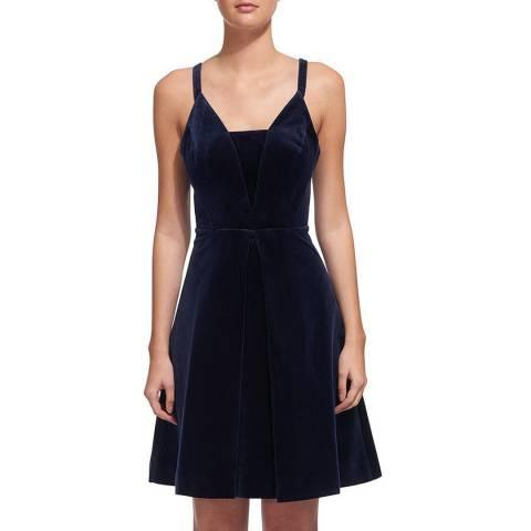 WHISTLES Navy Suzie Love Dress