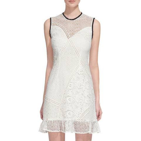 WHISTLES White Cassie Lace Dress