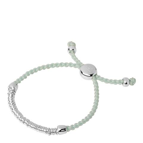 Links of London Mint Silver Effervescence Cord Bracelet