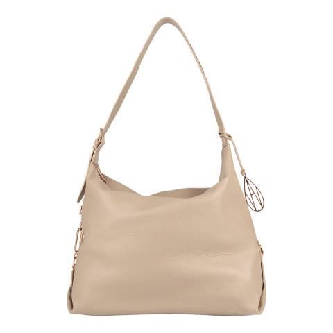 Amanda Wakeley Sand The Costner Shoulder Bag