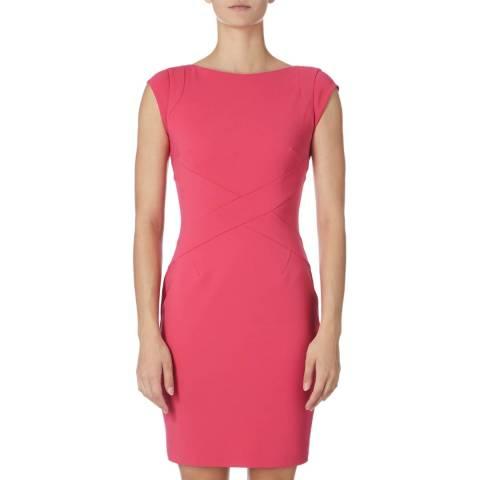 Reiss Hot Pink Agnes Dress