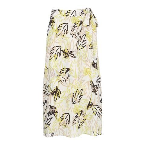 Mint Velvet Multi Print Wrap Skirt