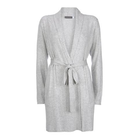 Mint Velvet Grey Belted Longline Cardigan