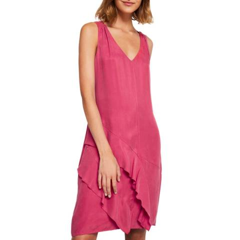 Mint Velvet Cerise Cupro Cocoon Dress