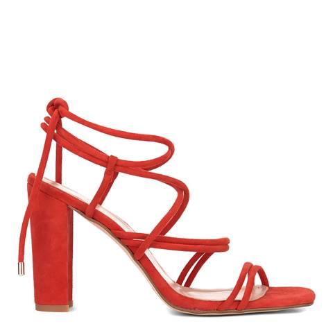 Mint Velvet Red Tia Strappy Heel