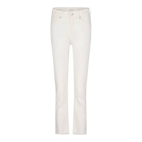 Donna Ida Milk Sidney Cropped Straight Jeans