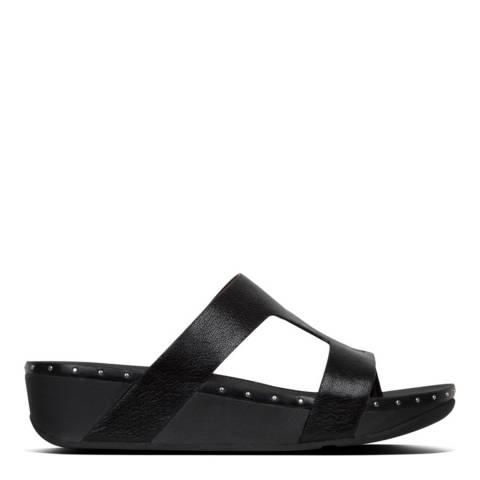 FitFlop Black Marli Slide Sandal