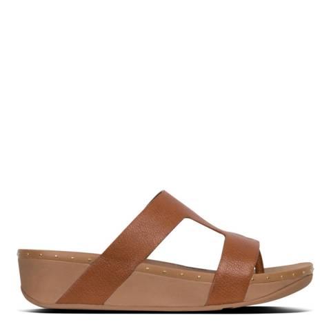 FitFlop Tan Marli Slide Sandal