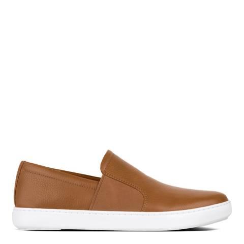 FitFlop Light Tan Collins Slip On Skate Shoe