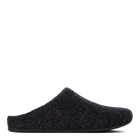 FitFlop Midnight Navy Shove Knitted Mule Slipper