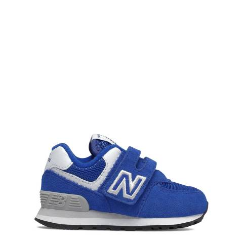 New Balance Baby Blue Suede Trainer