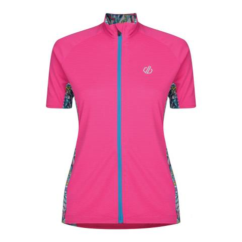 Dare2B Pink Expound Jersey Top
