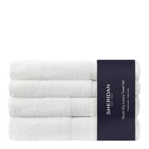 Sheridan Quick Dry Towel Bale, White