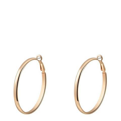 Ma Petite Amie Rose Gold Hoop Earrings
