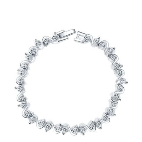 Ma Petite Amie Elegant Bracelet with Swarovski Crystals