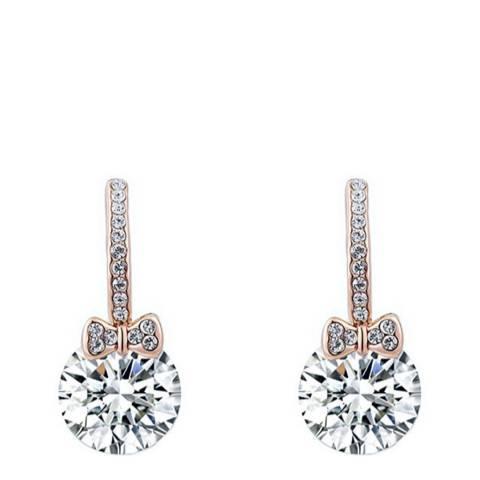 Ma Petite Amie Elegant Earrings with Swarovski Crystals