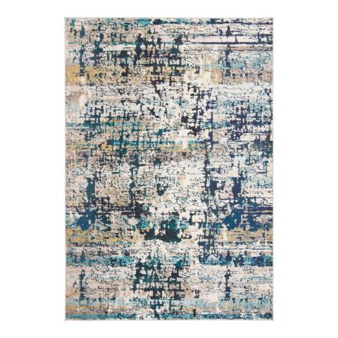 Safavieh Cream/Blue Madja Area Rug, 160x230cm