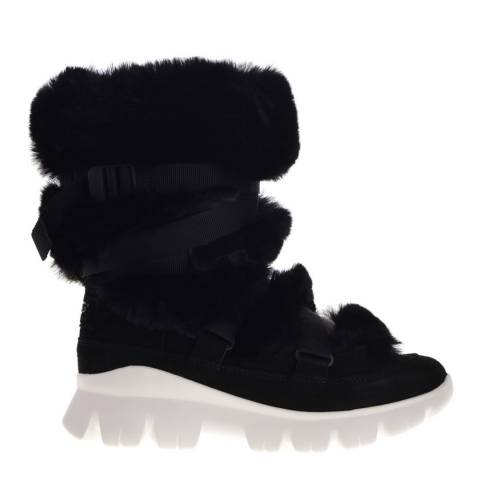 UGG Black Misty Sneaker Boot