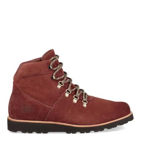 UGG Burgundy Hafstein Hiker Boots