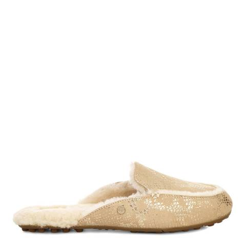 UGG Gold Lane Metallic Snake Slipper