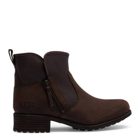 UGG Brown Lavelle Ankle Boot