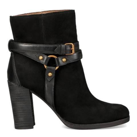 UGG Black Dandridge High Heel Ankle Boot