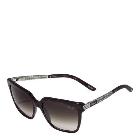 Chopard Men's Purple Chopard Square Sunglasses 56mm