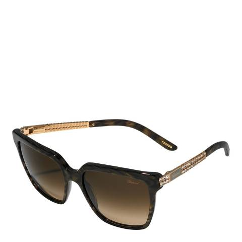 Chopard Women's Brown Chopard Sunglasses 57mm