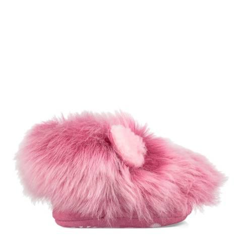 UGG Pink Pinkipuff Booties
