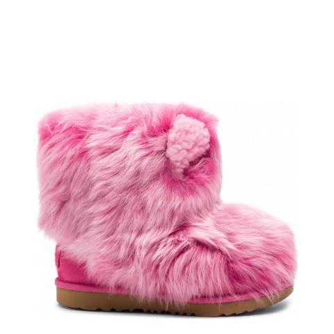 UGG Bright Pinkipuff Classic II Boot