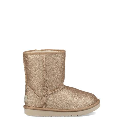 UGG Gold Short II Glitter Boot