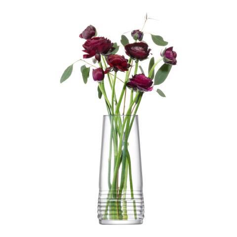 LSA Groove Vase, 22cm