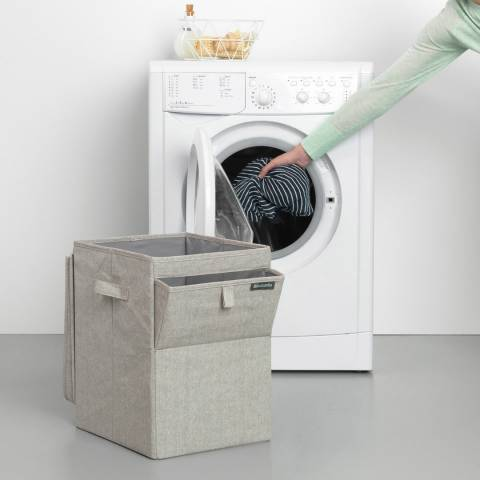 Brabantia Grey Stackable Laundry Box, 35L