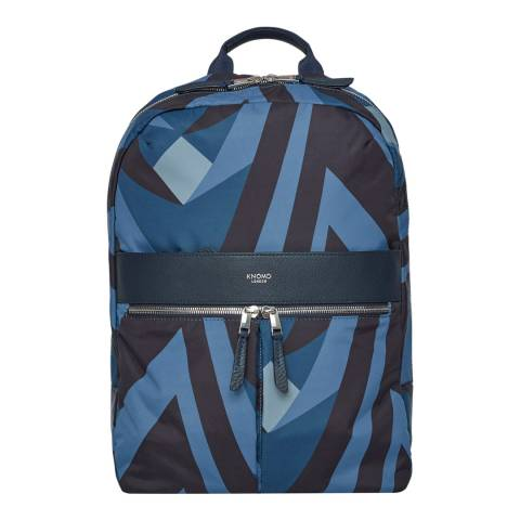 Knomo Blue Beauchamp Tote Backpack 14 inch